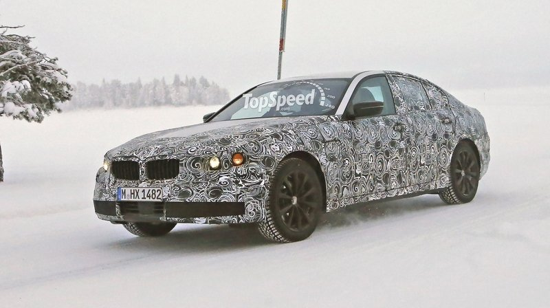 Spy Shots: BMW 5 Series Caught During Winter Testing
