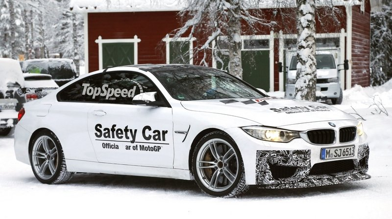 Spy Shots: BMW M4 GTS Testing in the Snow