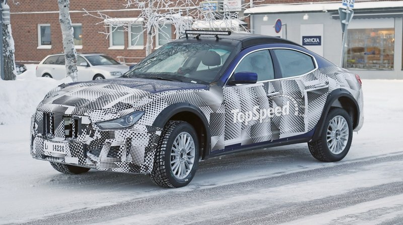 Spy Shots: Maserati Levante Testing in Cold Weather