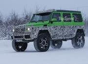 Spy Shots: Mercedes G63 AMG 4x4 Green Monster Testing On The Snow - image 611339