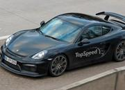 Spy Shots: Porsche Cayman GT4 Caught Free Of Camouflage - image 608692