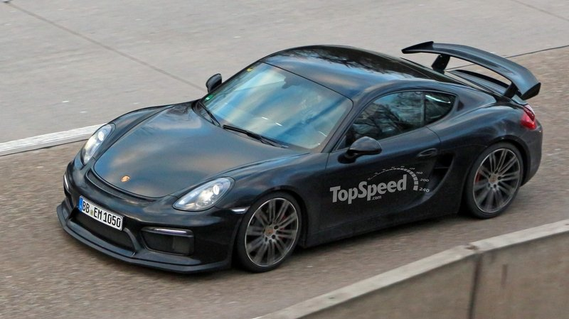 Spy Shots: Porsche Cayman GT4 Caught Free Of Camouflage