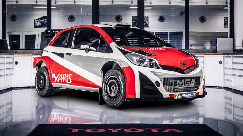 2015 Toyota Yaris WRC High Resolution Exterior - image 614660
