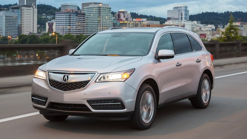 2014 - 2016 Acura MDX High Resolution Exterior - image 615134