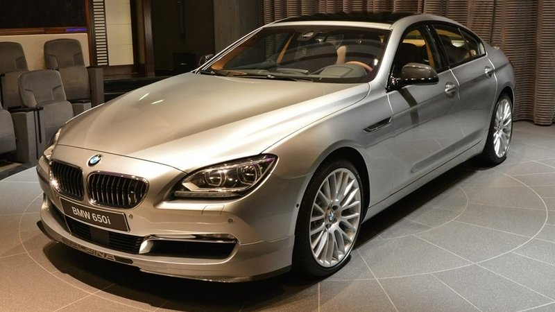 2015 BMW 6 Series Gran Coupe Pearl Edition