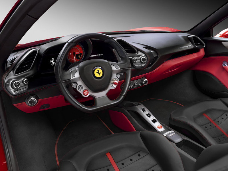 2016 Ferrari 488 GTB High Resolution Interior - image 615040