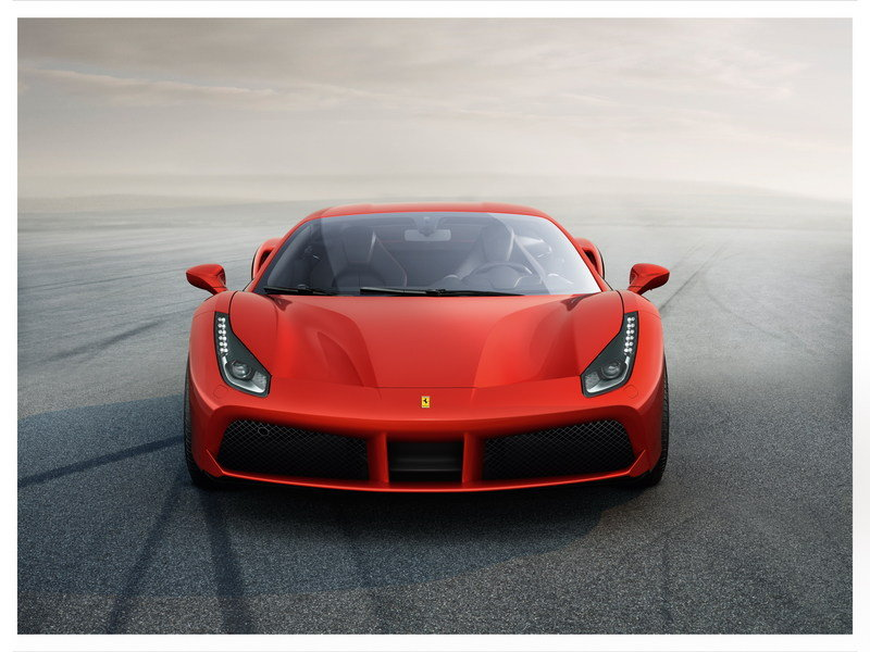 Ferrari 488 GTB is Here and it's Turbocharged