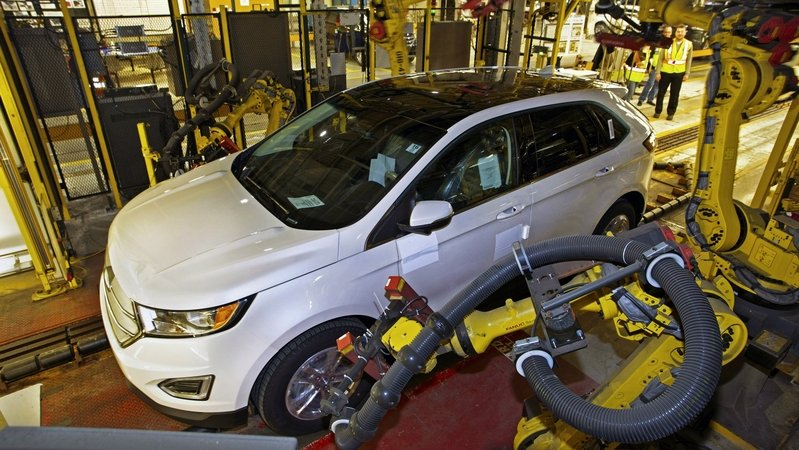 2015 Ford Edge Goes Into Production; Requires 400 New Employees