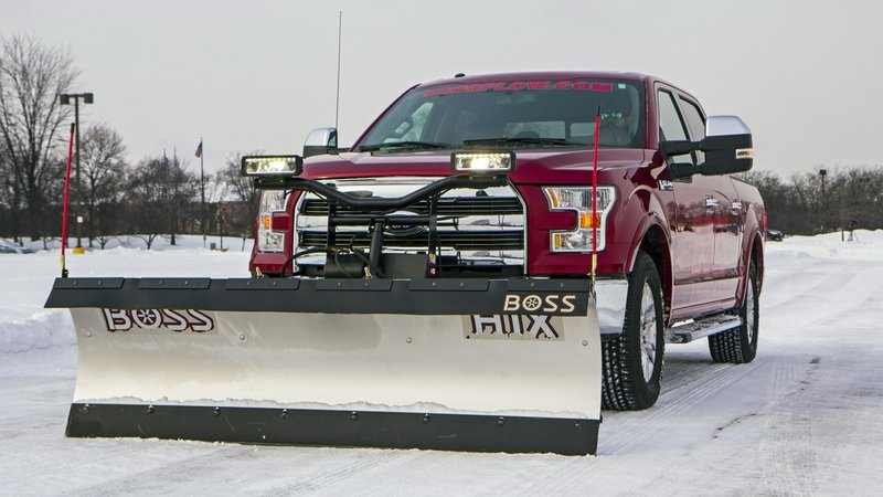 2015 Ford F-150 Gets Snow Plow Prep Option