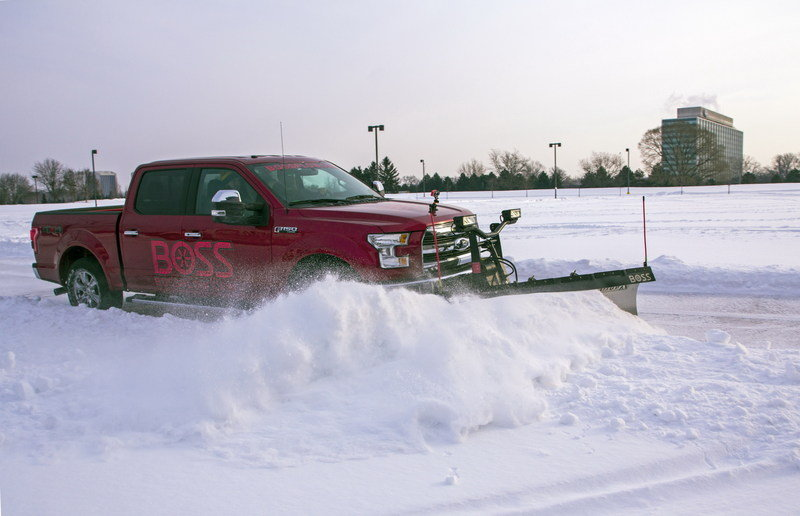 2015 Ford F-150 Gets Snow Plow Prep Option Exterior - image 618274