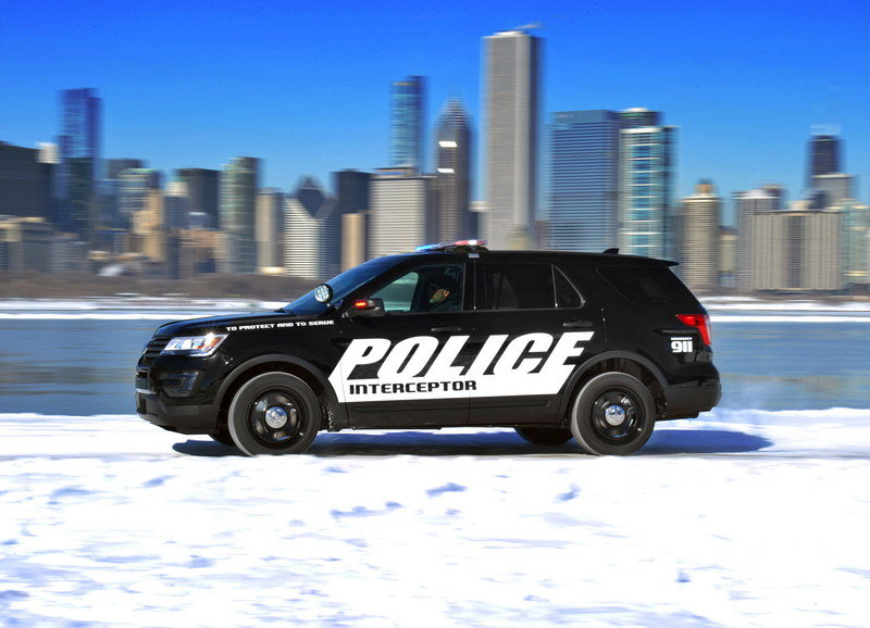 2016 Ford Police Interceptor Utility High Resolution Exterior - image 616229