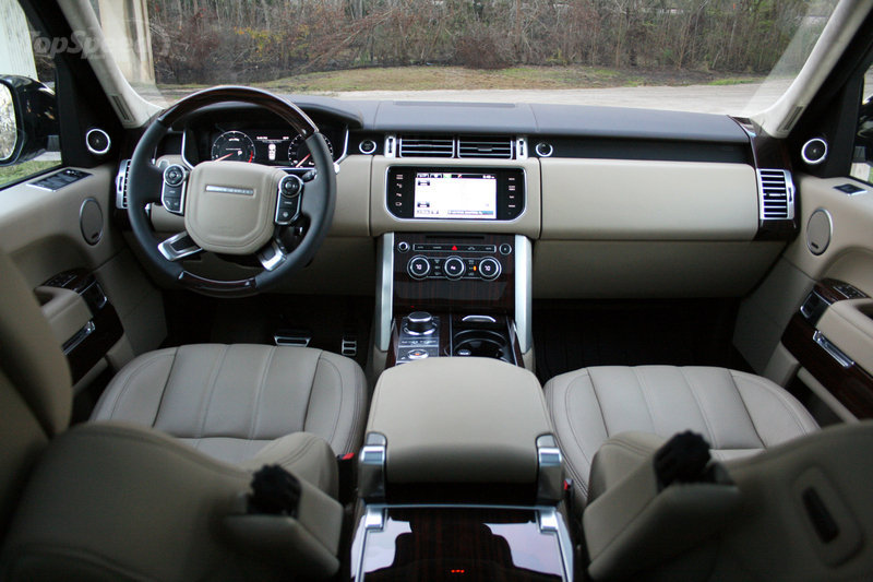 2015 Land Rover Range Rover LWB - Driven High Resolution Interior - image 615447