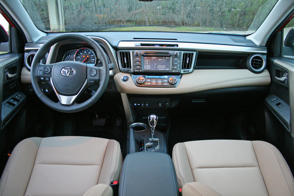 Picture Of 2015 Rav4 With Leather Autos Post