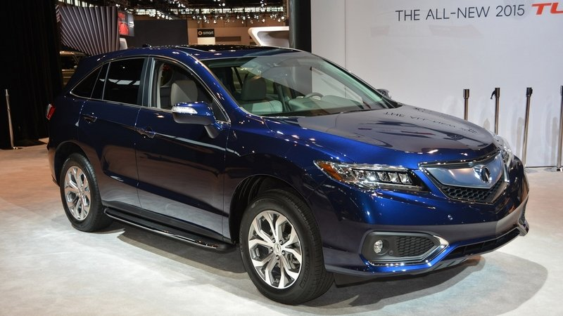 2016 Acura RDX Review - Top Speed