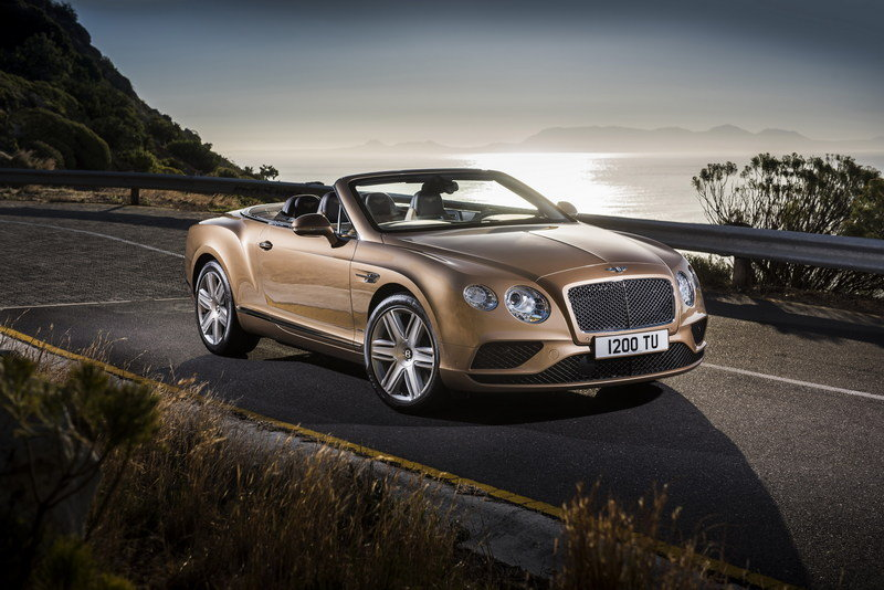 2016 Bentley Continental GT Convertible High Resolution Exterior Wallpaper quality - image 617647
