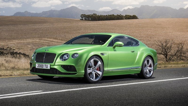 2016 - 2017 Bentley Continental GT Speed Exterior - image 617635