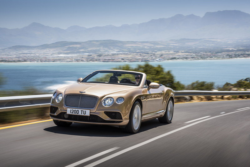 2016 Bentley Continental GT Convertible High Resolution Exterior - image 617640