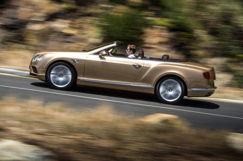2016 Bentley Continental GT Convertible High Resolution Exterior - image 617641