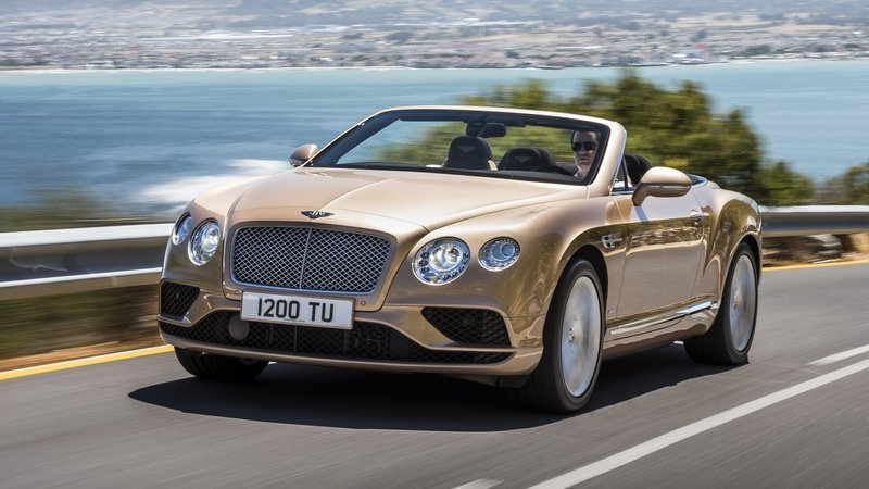 2016 Bentley Continental GT Convertible High Resolution Exterior - image 617645
