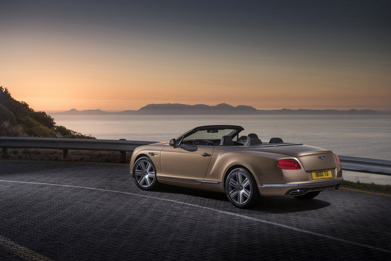 2016 Bentley Continental GT Convertible High Resolution Exterior - image 617646