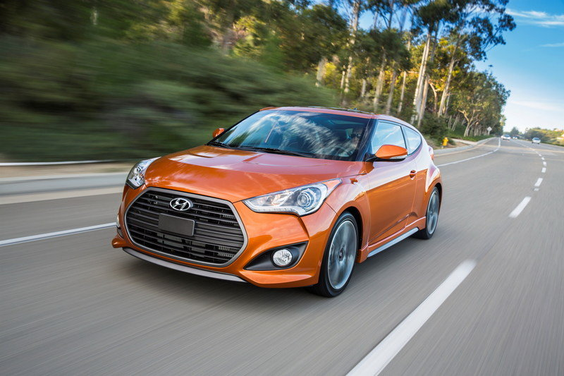 2016 Hyundai Veloster Turbo High Resolution Exterior Wallpaper quality - image 617105