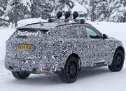 Spy Shots: Jaguar F-Pace Testing In The Snow - image 615719
