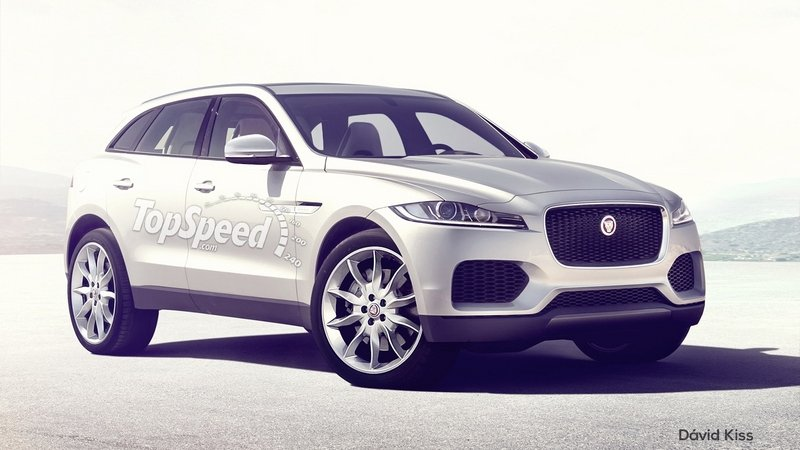 2017 - 2019 Jaguar F-Pace Exterior Exclusive Renderings Computer Renderings and Photoshop - image 616247