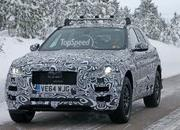 Spy Shots: Jaguar F-Pace Testing In The Snow - image 615709