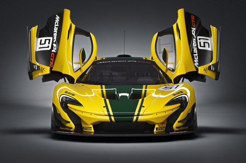 2016 McLaren P1 GTR High Resolution Exterior - image 617805
