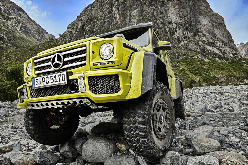 2016 Mercedes-Benz G500 4x4² High Resolution Exterior - image 618419