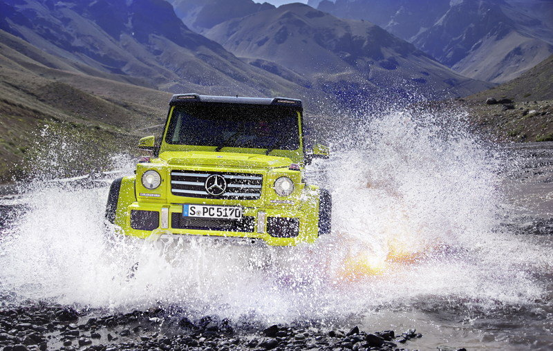2016 Mercedes-Benz G500 4x4² High Resolution Exterior - image 618421
