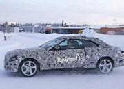 Spy Shots: Mercedes C-Class Convertible Goes Winter Testing - image 615904
