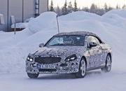 Spy Shots: Mercedes C-Class Convertible Goes Winter Testing - image 615901