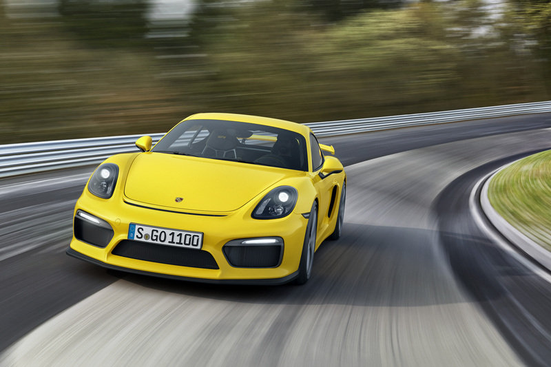 2016 Porsche Cayman GT4 High Resolution Exterior - image 615254