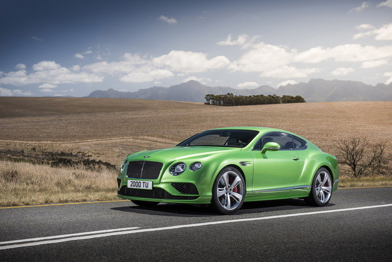 2016 - 2017 Bentley Continental GT Speed High Resolution Exterior - image 617631