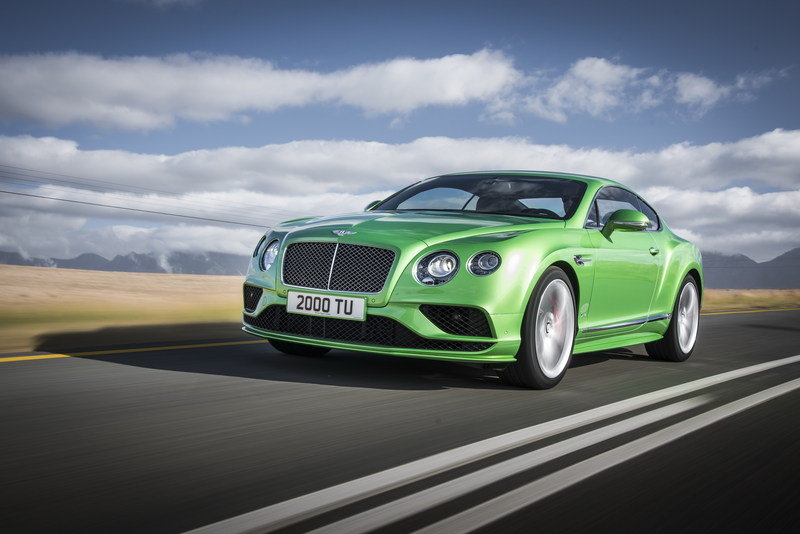 2016 - 2017 Bentley Continental GT Speed High Resolution Exterior Wallpaper quality - image 617632