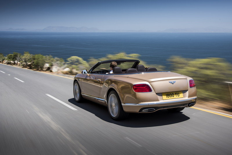 2016 Bentley Continental GT Convertible High Resolution Exterior - image 617639