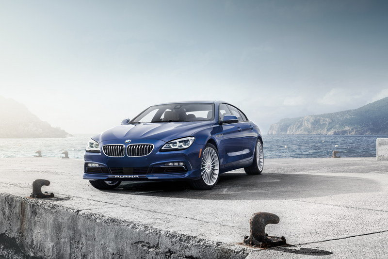 2016 BMW Alpina B6 xDrive Gran Coupe High Resolution Exterior Wallpaper quality - image 616442