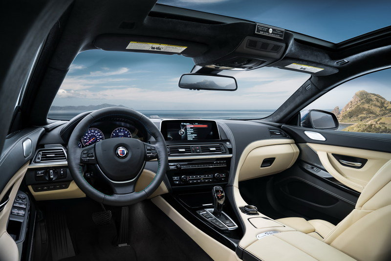 2016 BMW Alpina B6 xDrive Gran Coupe High Resolution Interior - image 616447