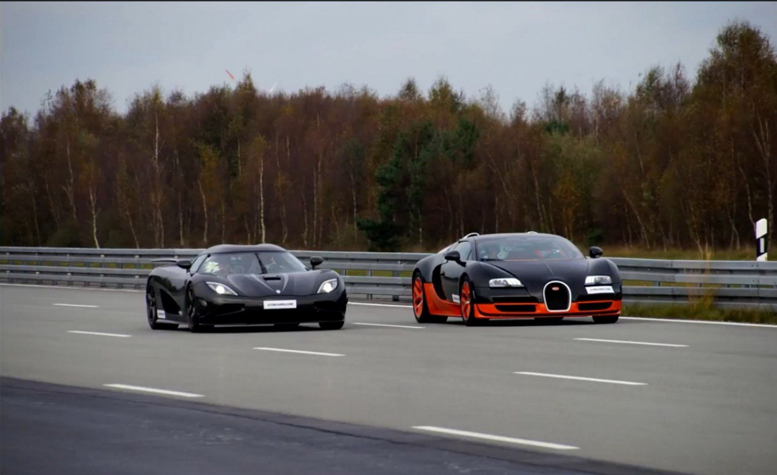 bugatti veyron vitesse vs koenigsegg agera r: video news - top speed