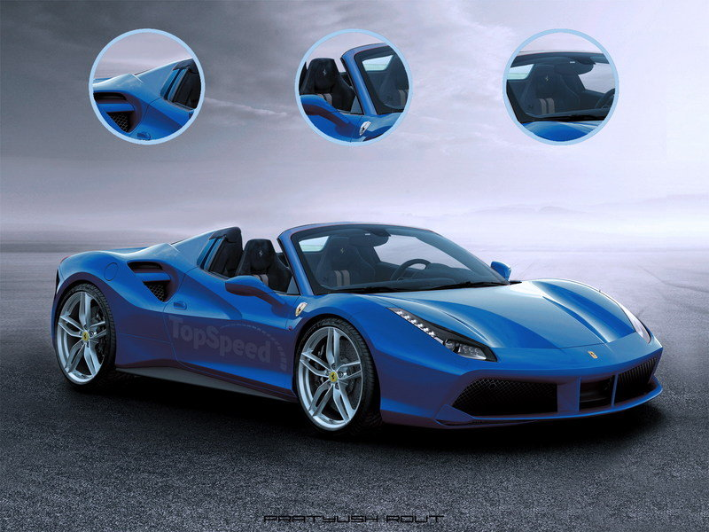 2016 Ferrari 488 Spider Exclusive Renderings - image 615669