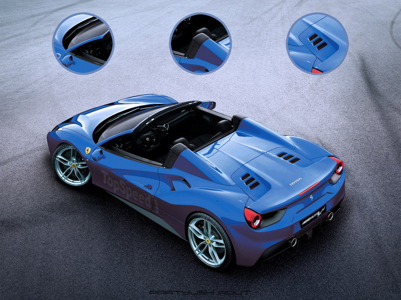 2016 Ferrari 488 Spider Exclusive Renderings - image 615668