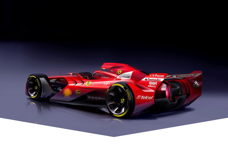 Ferrari Scuderia Wants Your Input On The Design F1 Car Of The Future