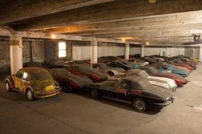 Forgotten $500,000 Corvette Collection Discovered in a Garage