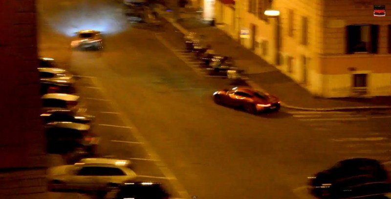 Jaguar C-X75 Almost Crashes Into Aston Martin DB10 During Spectre Filming: Video