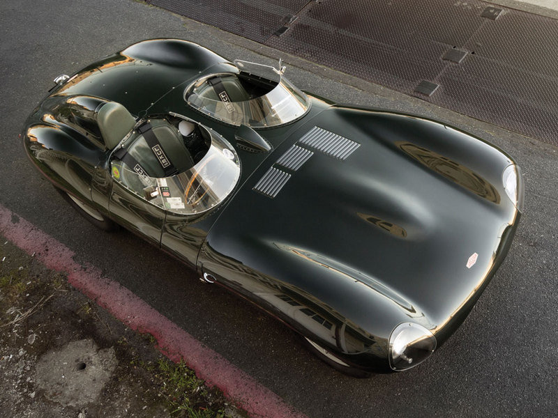 1955 Jaguar D-Type Auctioned High Resolution Exterior - image 617883