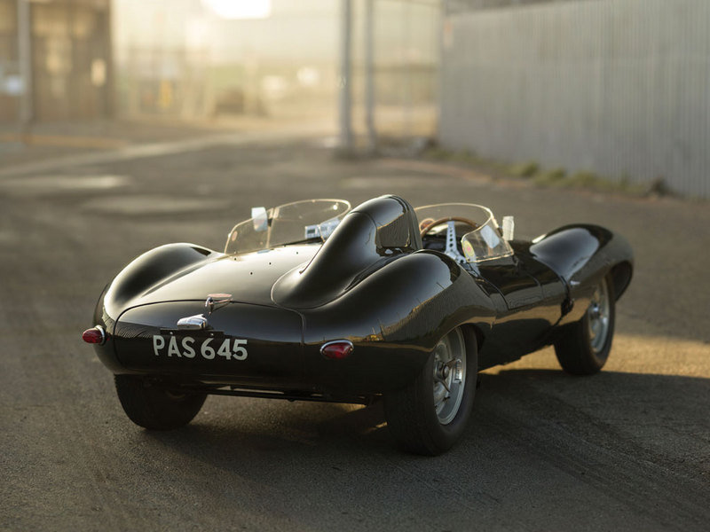 1955 Jaguar D-Type Auctioned