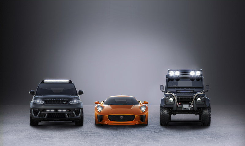 Jaguar Land Rover Announces Three Cars To Be Featured in Bond Spectre High Resolution Exterior - image 615863