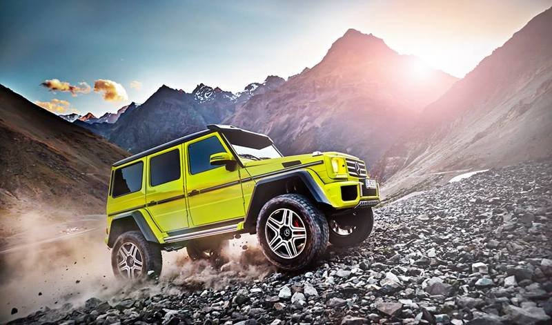 2016 Mercedes-Benz G500 4x4² High Resolution Exterior - image 617677