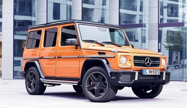 2015 Mercedes Benz G63 Amg Crazy Color Edition Review